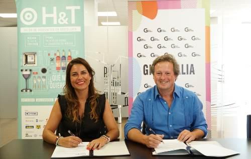 profesionalhoreca, Paula Morales, directora de H&T, y Manuel Castilla, de Ginebralia