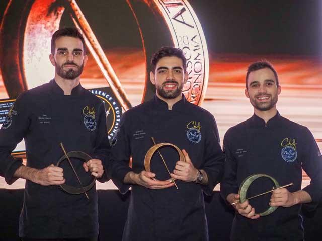 Profesionalhoreca, los tres Chefs Balfegó 2019