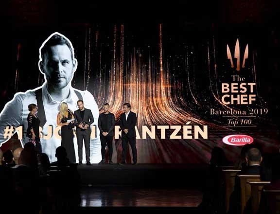 Profesionalhoreca, Björn Frantzén, del restaurante Frantzén en Estocolmo, Mejor Chef 2019 según The Best Chef Award