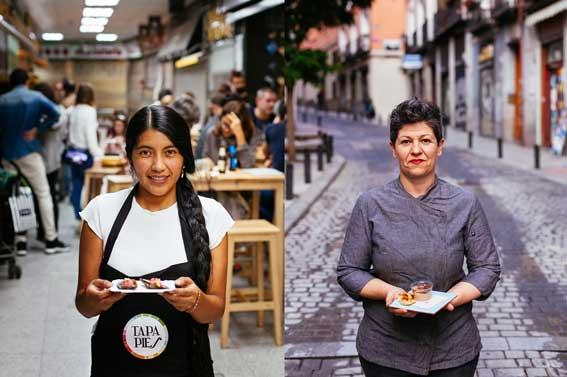 Profesionalhoreca, cocineras de Lavapiés. festival Tapapiés