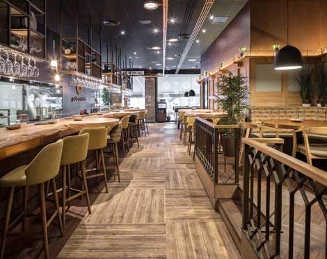 Profesionalhoreca, restaurante Palocortado, barra