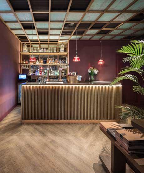 Profesionalhoreca, restaurante Palocortado, barra de coctelería