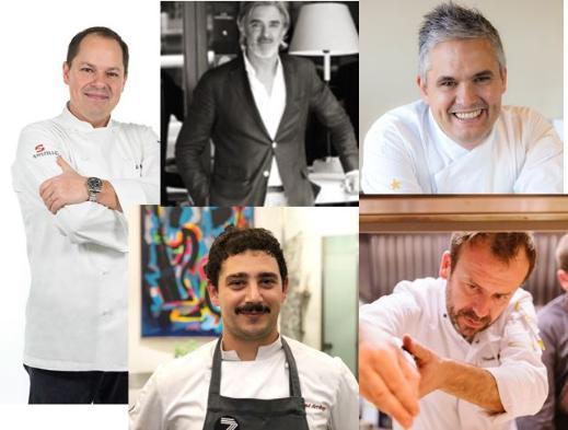 profesionalhoreca, chefs participantes en el I Congreso de Pintxos y Tapas, San Sebastián gastronomika