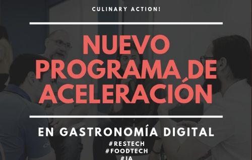 profesionalhoreca, programa de aceleración de culinary action!