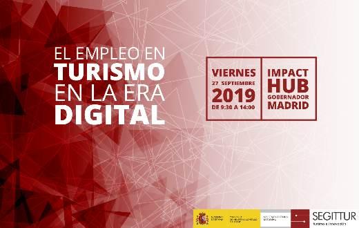 profesionalhoreca, empleo en turismo en la era digital, jornada de Segittur