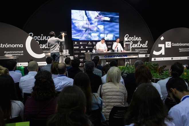 Profesionalhoreca, espacio Cocina Central, feria Gastrónoma 2018, Valencia