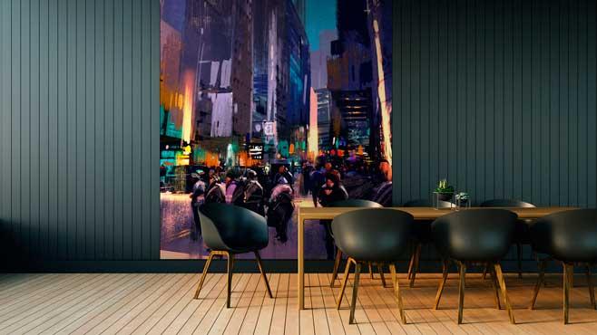 Profesionalhoreca, panel decorativo Element 3D, de Grosfillex