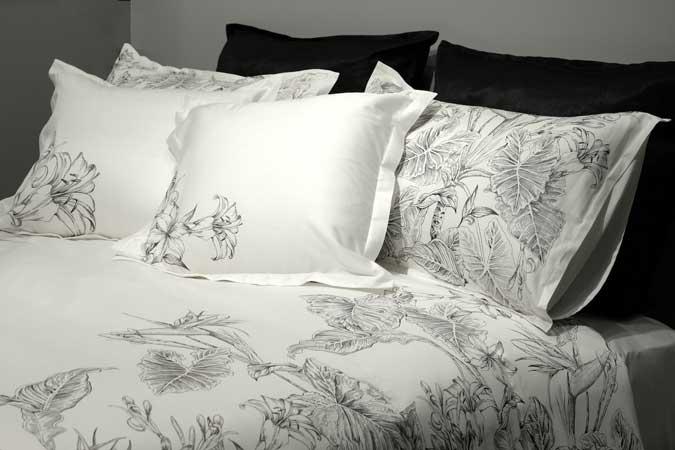 Profesionalhoreca, cama vestida con la colección Palmira, de Resuinsa