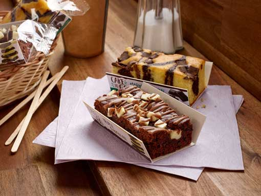 Profesionalhoreca, Erlenbacher, Cakes to Go Triple Chocolate y Tarta mármol