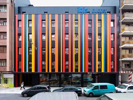 profesionalhoreca, fachada del hotel Ibis Budget Bilbao