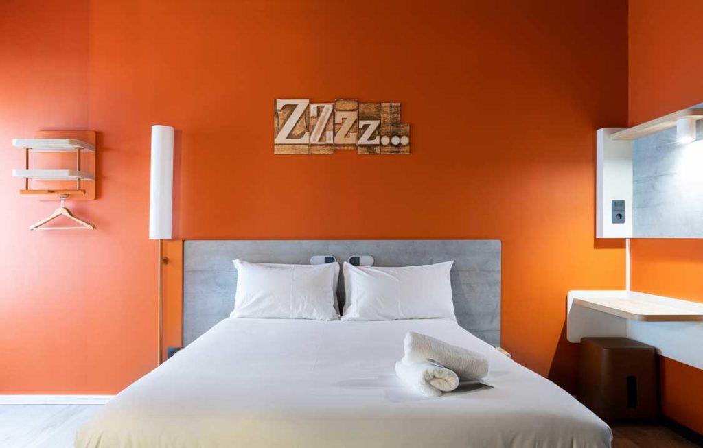 Profesionalhoreca, habitación del hotel Ibis Budget Bilbao City