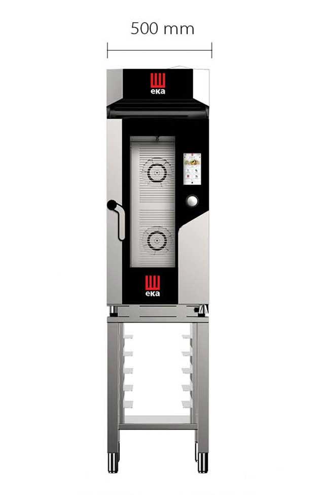 Profesionalhoreca, horno Eka Millennial, línea Compact, de 50 cm de ancho