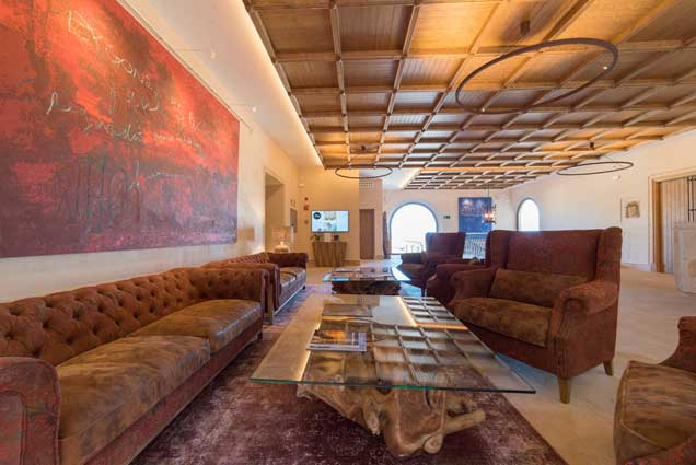 Profesionalhoreca, lobby del hotel Creu de Tau Art & Spa