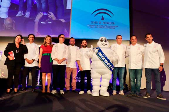 profesionalhoreca, presentación de la gala de la Guía Michelin en Sevilla, en noviembre de 2019