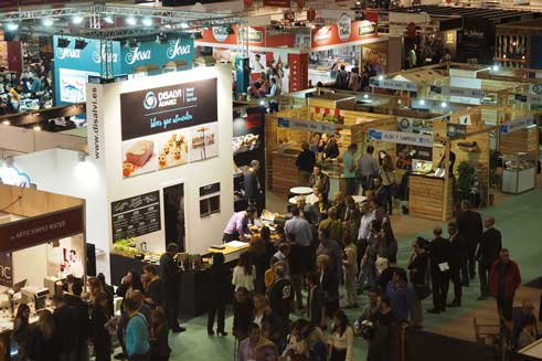 Profesionalhoreca, stands del Forum Gastronomic Barcelona 2016