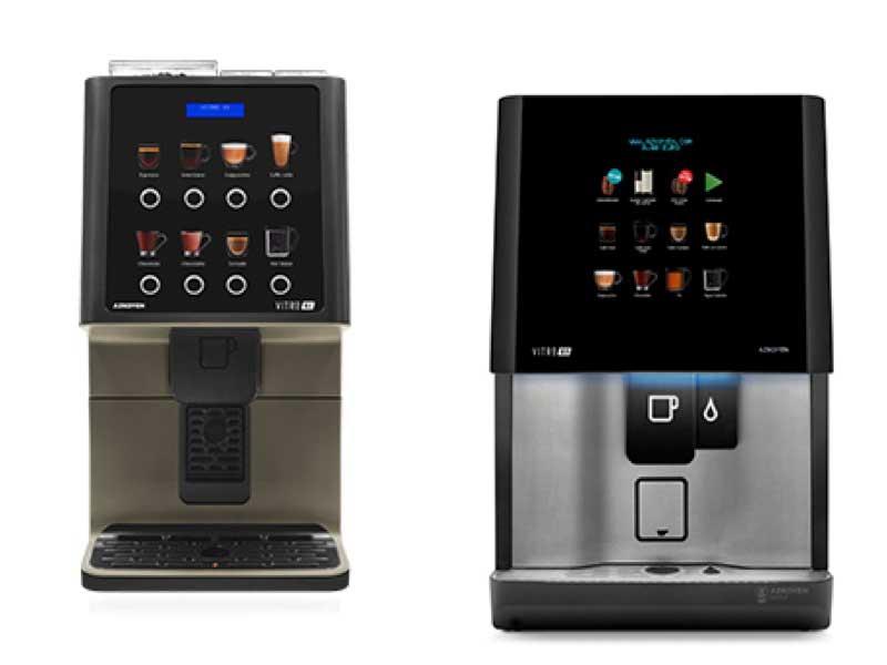 """Profesionalhoreca, máquinas de café Azkoyen Vitro """"1 y Vitro S5"""