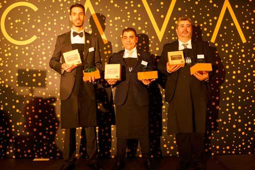 Profesionalhoreca, ganadores del premioMejor Sumiller Internacional en cava 2019