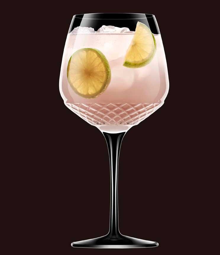 Profesionalhoreca, copa Gin Tonic Roma 1960 de Luigi Bormioli