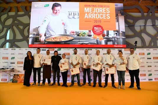 Profesionalhoreca, los seis chefs finalistas del certamen Mejores Arroces 2019