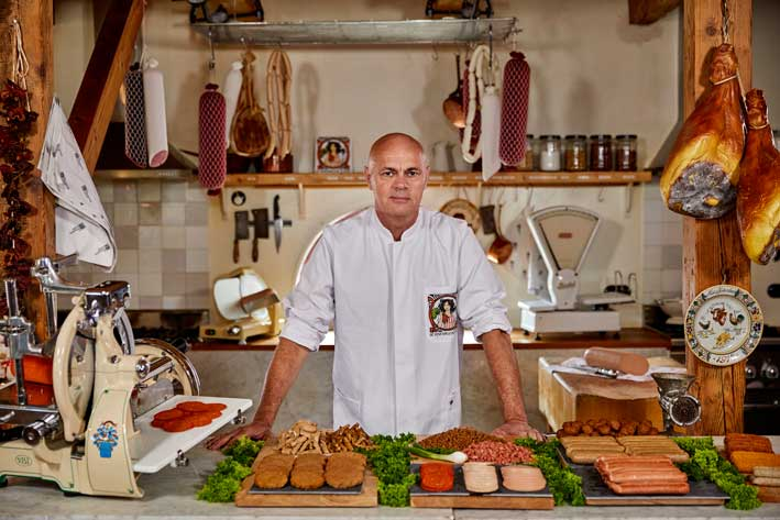 Jaap Korteweg, The Vegetarian Butcher