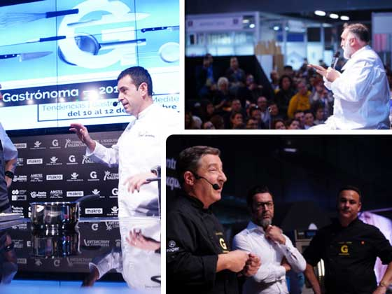Profesionalhoreca, grands chefs en la feria Gastrónoma 2019