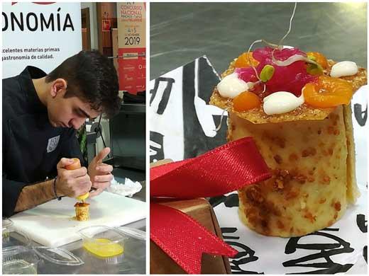 Profesionalhoreca, ganador Concurso Nacional tapas Valladolid 2019, pollo escalmendrado