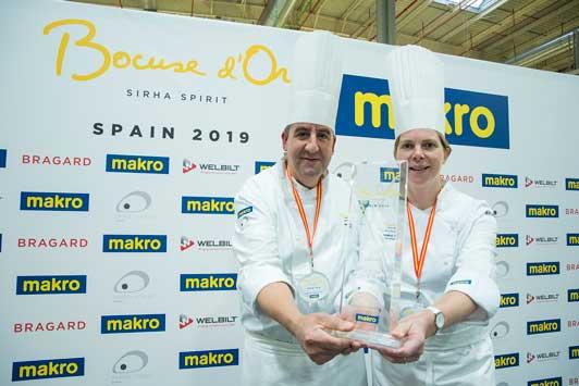 Profesionalhoreca, los ganadores del Bocuse d'Or España 2019, Albert Boronat y Mélina Allair
