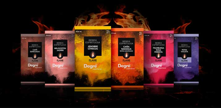 Profesionalhoreca, icores especiales para flambear Degre Flame