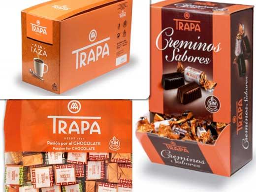 Profesionalhoreca, chocolates Trapa para la hostelería