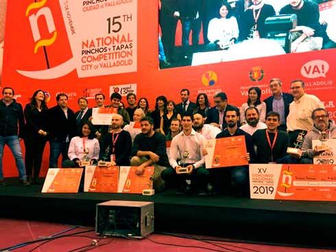 Profesionalhoreca, los premiados en el XV Campeonato Nacional de Tapas