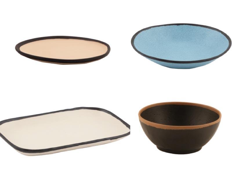 ProfesionalHoreca, vajilla de melamina Pottery Market, de DBMark