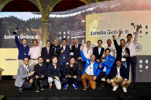 Profesionalhoreca, emprendedores ganadores de la segunda edición de The Hop