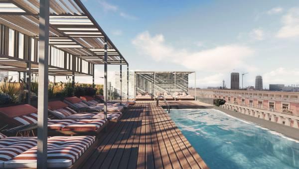 Profesionalhoreca, terraza del Kimpton Vividora Hotel