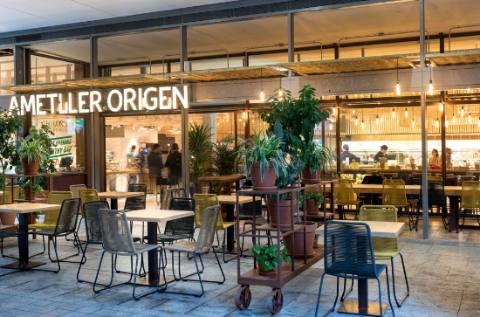 profesionalhoreca, restaurante en una tienda Ametller Origen