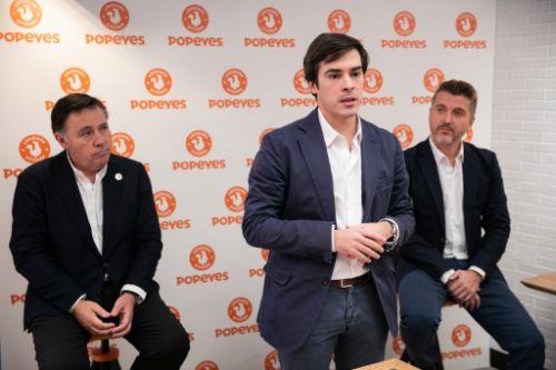profesionalhoreca, directivos de RBIberia y Popeyes en España