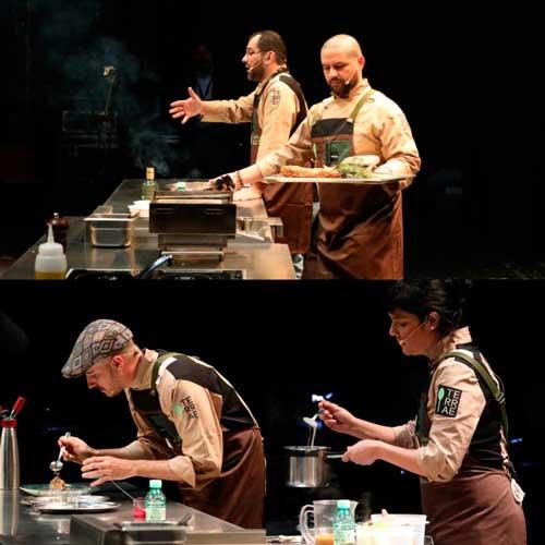 Profesionalhoreca, demostraciones gastronómicas en Terrae