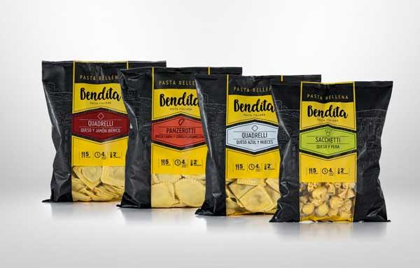 Profesionalhoreca, pasta fresca rellena Bendita de Benfood, de Tastia Group