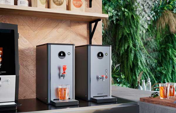Profesionalhoreca, máquinas de agua caliente para infusiones Bravilor Bonamat HWA 6D y 14D