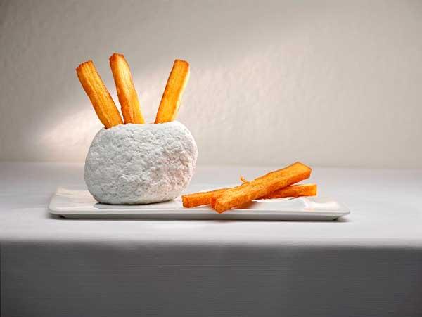 Profesionalhoreca, milhojas de patata de Marc Gascons