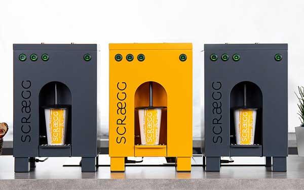 Profesionalhoreca, máquina de huevos revueltos Scraegg
