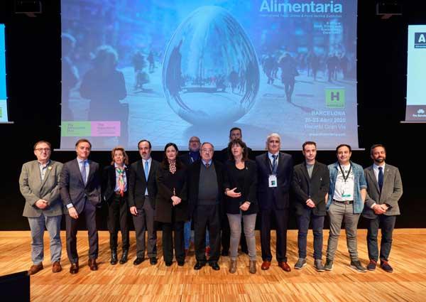 Profesionalhoreca, Foto de familia de la presentación oficial de Alimentaria 2020