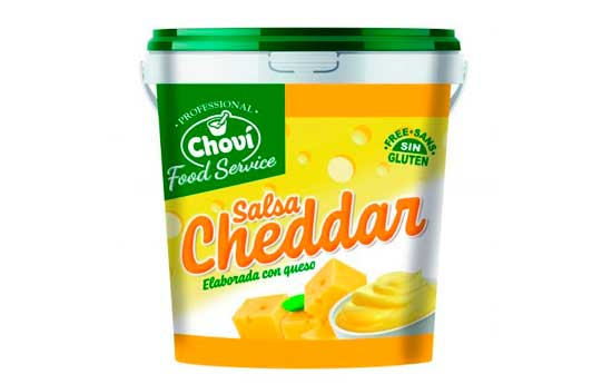 Profesionalhoreca, salsa Cheddar Choví 1 kg