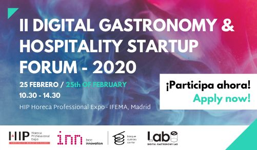 profesionalhoreca, Digital Gastronomy & Hospitality Startup Forum