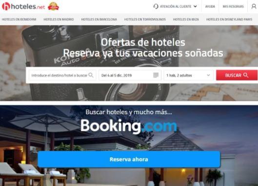 profesionalhoreca, Hoteles.net y Booking.com
