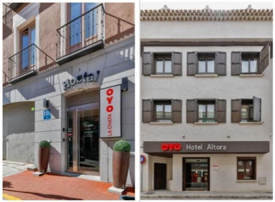 profesionalhoreca, establecimientos de Oyo Hotels