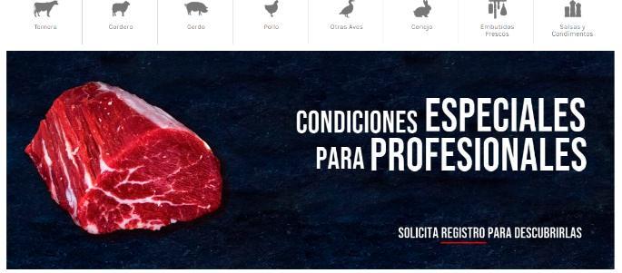 profesionalhoreca, web comprarcarnefresca.com