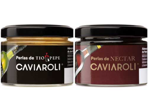 Profesionalhoreca, Caviaroli, perlas de Tío Pepe y las perlas de Néctar