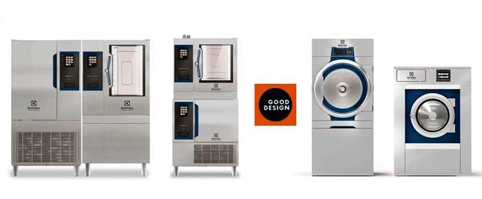 Profesionalhoreca, solución SkyLine Cook&Chill de horno y abatidor y la Línea 6000 de lavadoras y secadoras, Premio Good Design, Electrolux Professional