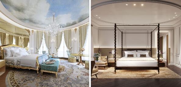 profesionalhoreca, recreación de dos habitaciones del hotel Mandarin Oriental Ritz