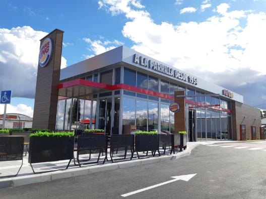 Profesionalhoreca, restaurante Burger King